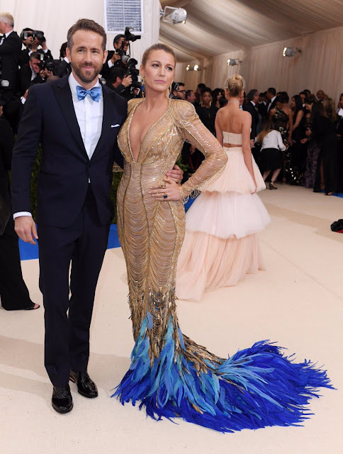 Blake Lively with Husband Ryan Reynolds