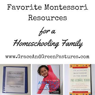 Favorite Montessori Resources