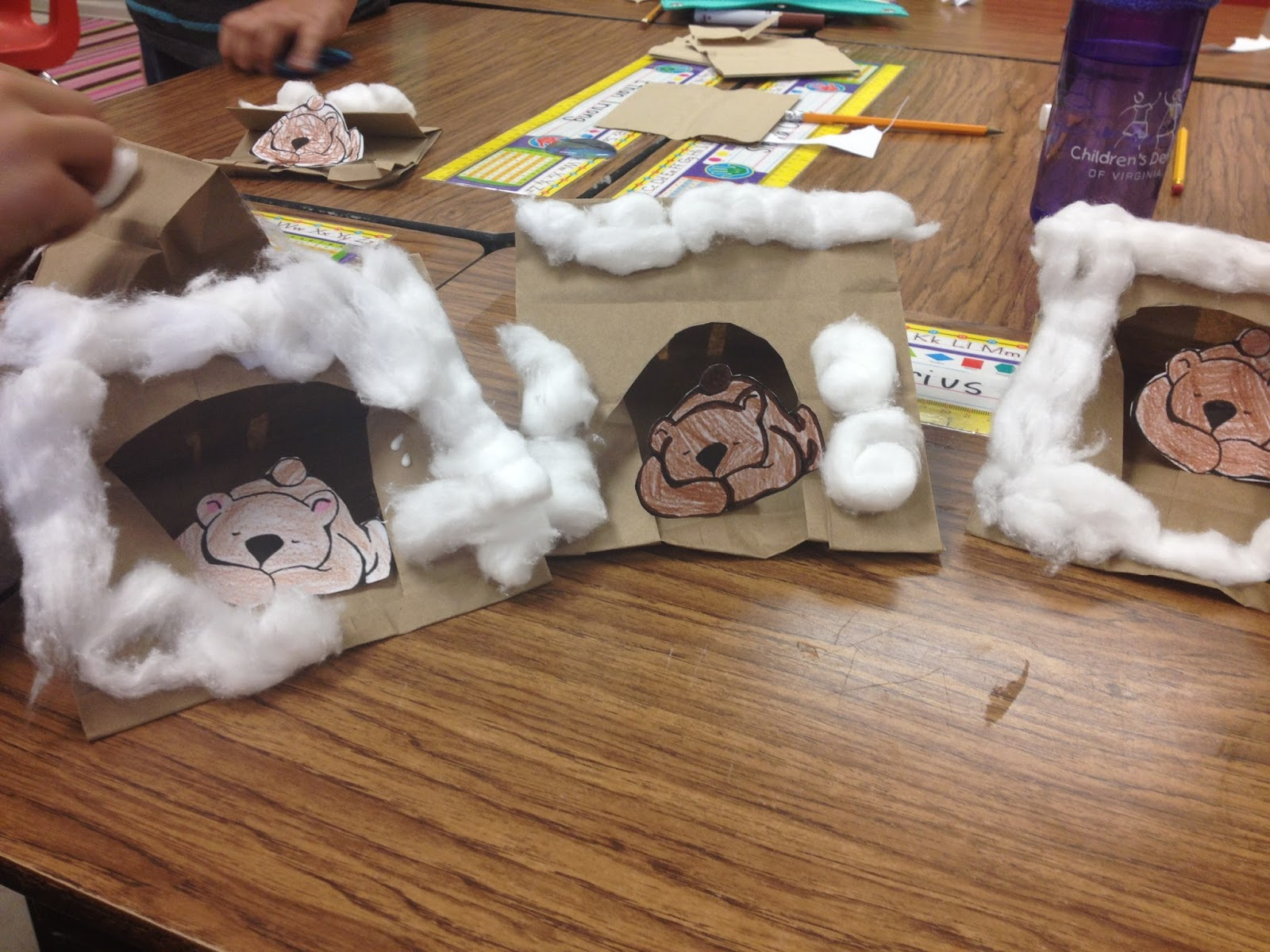 Literary hoots 15 extension activities for mother bruce for Hibernation crafts for kids