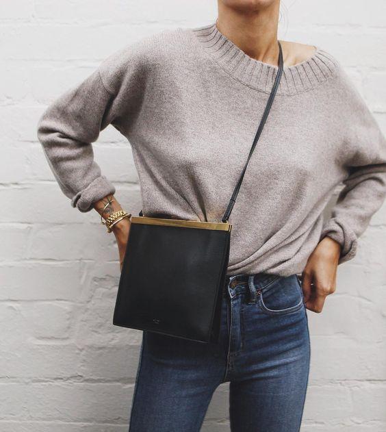 Celine Mini Clasp Bag