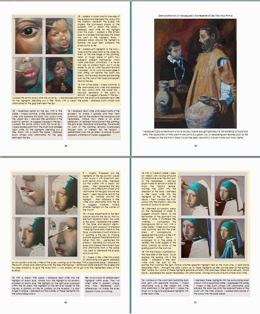 oil painting medic essential art instruction book on portrait