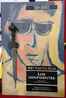 Portada del libro Los confidentes, de Bret Easton Ellis
