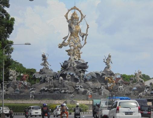Titi Banda Statue Bali, Patung Titi Banda
