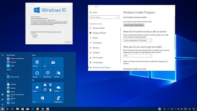 Download Windows 10 Pro RS3 v1709 Build 16299.19 Terbaru For Pc
