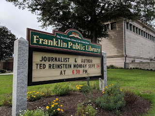 Library: Journalist and Author Ted Reinstein - Sep 24