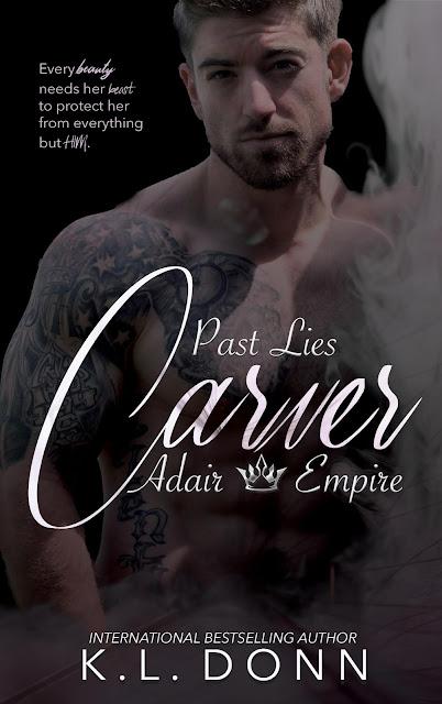 New Release! Carver: Past Lies by K.L. Donn @author_kldonn #darkromance @rrrpromotion @readreviewrpt