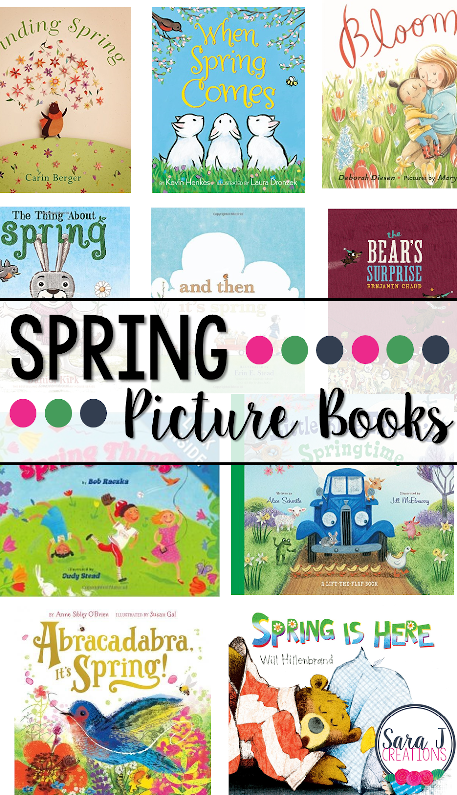 10 picture books for kids all about spring