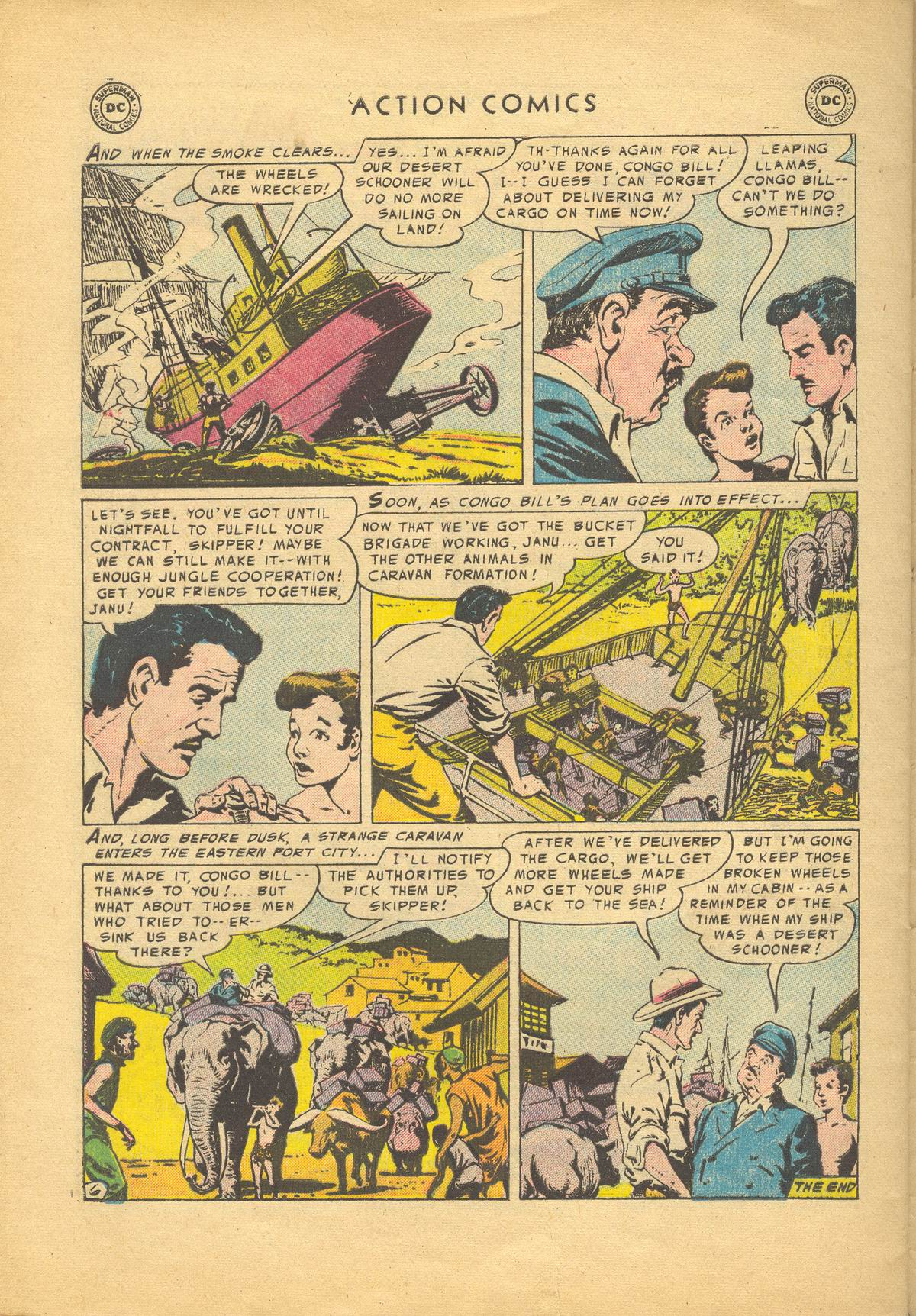 Read online Action Comics (1938) comic -  Issue #209 - 32