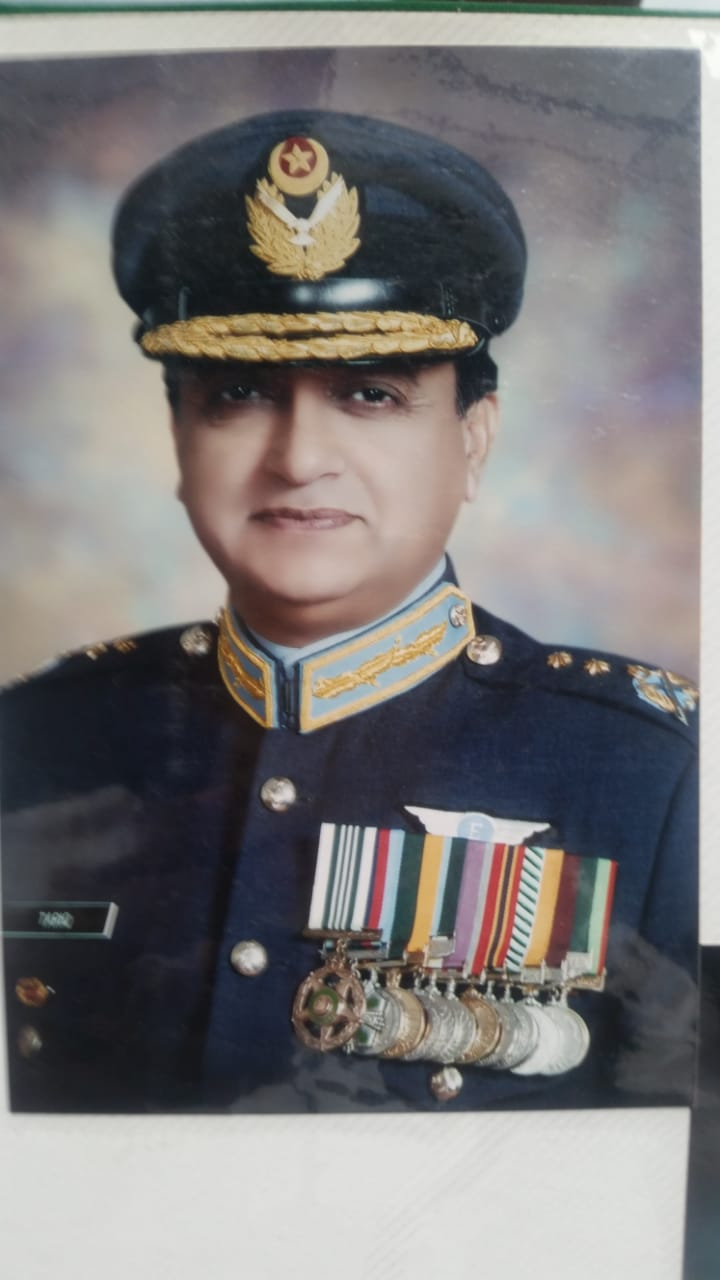 Air Vice Marshal (R)  Raja Tariq Mahmood