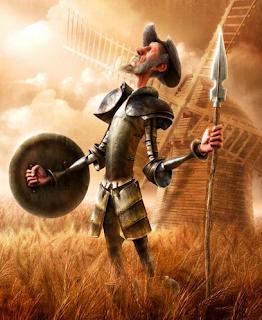 Crucigrama. Don Quijote