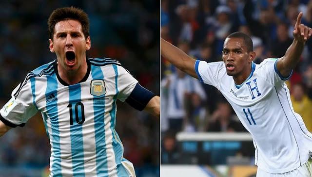 Argentina vs Honduras en vivo