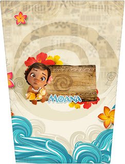 Moana Baby Free Printable  Labels.