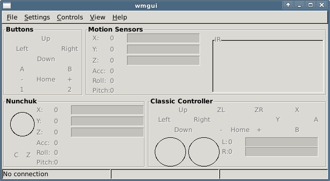 Left Brain Tinkering: Wii Remote Plus and Linux