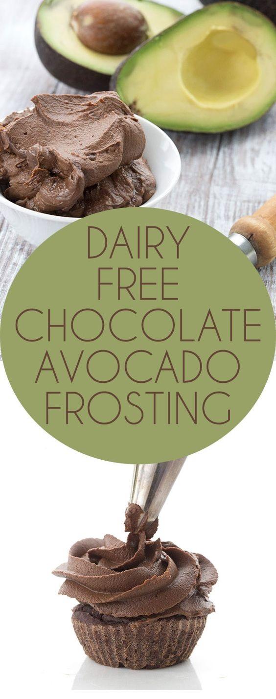 Dairy-Free Chocolate Avocado Buttercream