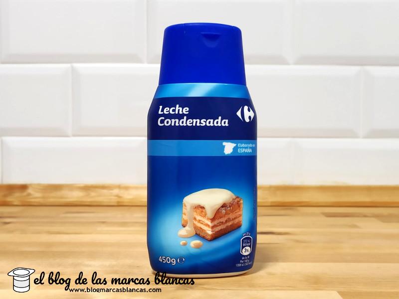 Leche condensada Carrefour en el blog de las marcas blancas.