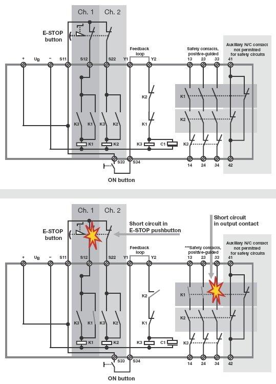 Allen Bradley Safety Wiring Diagrams E36 Alternator Diagram Relay 27 Images Pilz1 Pilz Wire Examples U2022