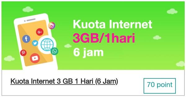 Cara Mendapatkan Kuota Internet Tri 4GB Gratis Dari Bima+