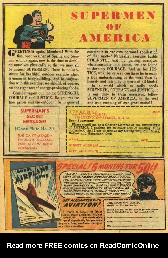 Read online Action Comics (1938) comic -  Issue #26 - 16