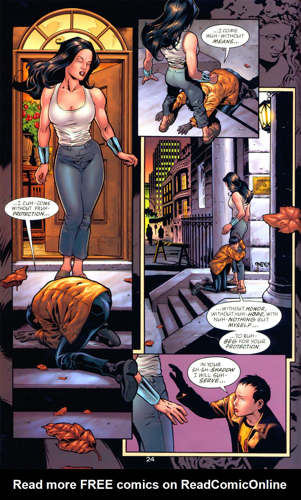 Read online Wonder Woman: The Hiketeia comic -  Issue # Full - 31