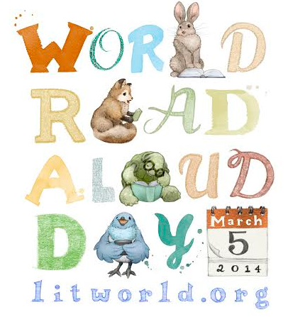 New Friends Made on World Read Aloud Day