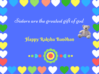 Rakhi wishes to sister