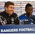 Rangers FC manager, Steven Gerrard warns Nigerian striker Sadiq Umar