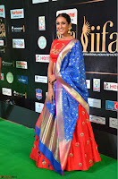 Priya Shree in Beautiful Blue Saree at IIFA Utsavam Awards 2017  Day 2    HD Exclusive Pics 27.JPG