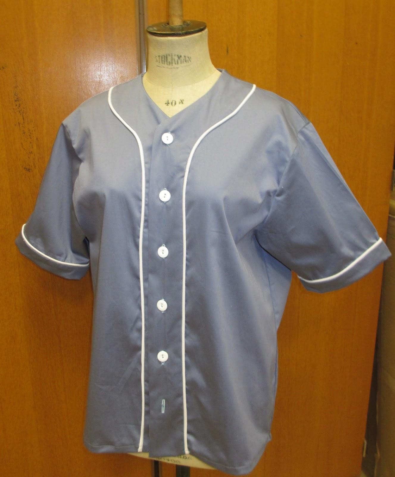 les canettes de sylvie une chemise de baseball. Black Bedroom Furniture Sets. Home Design Ideas