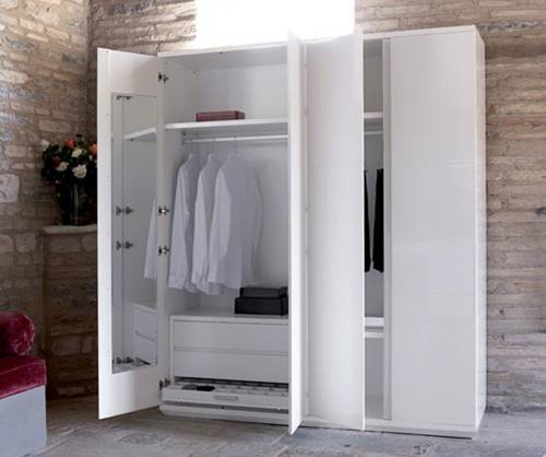 White Wardrobe Cabinets for the Bedroom 4