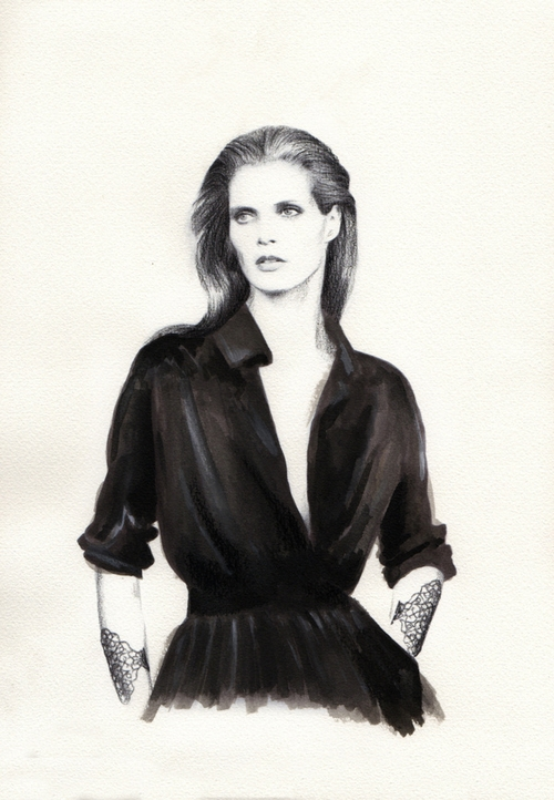 14-Nabil-Nezzar-Watercolours-Graphite-and-Gouache-Drawings-and-Paintings-www-designstack-co