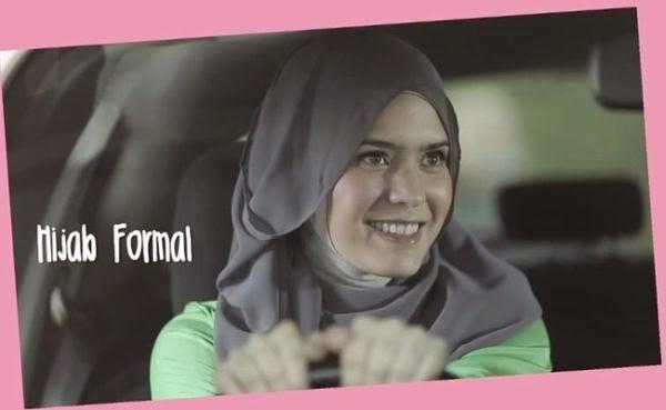 Tutorial Hijab Ala 'Bia' Carissa Putri Di Film Hijab