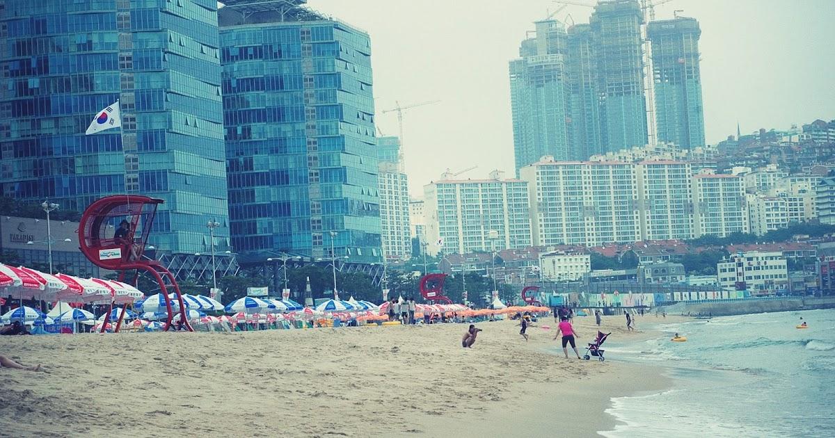 ye koreaa la plage de busan ou le r cit d 39 une presque non baignade. Black Bedroom Furniture Sets. Home Design Ideas