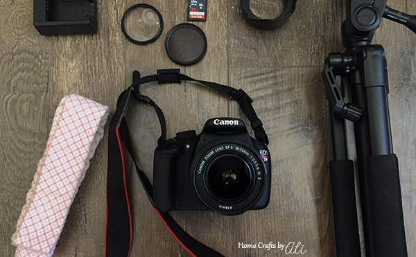 photography gear and accessories for traveling
