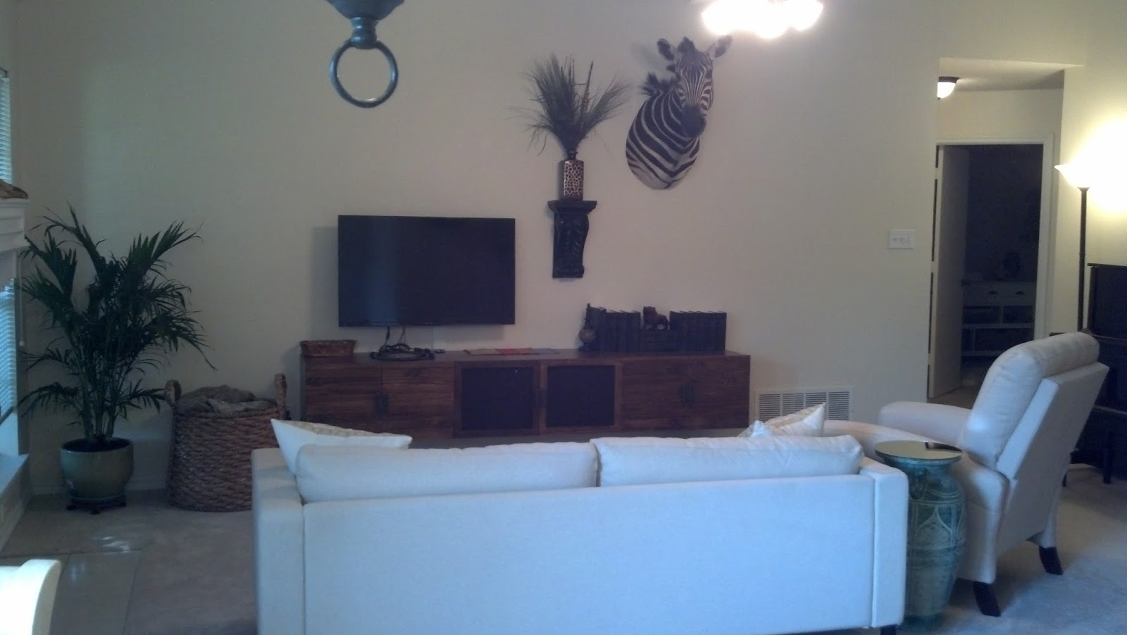 fix lovely how i made a huge floating entertainment center