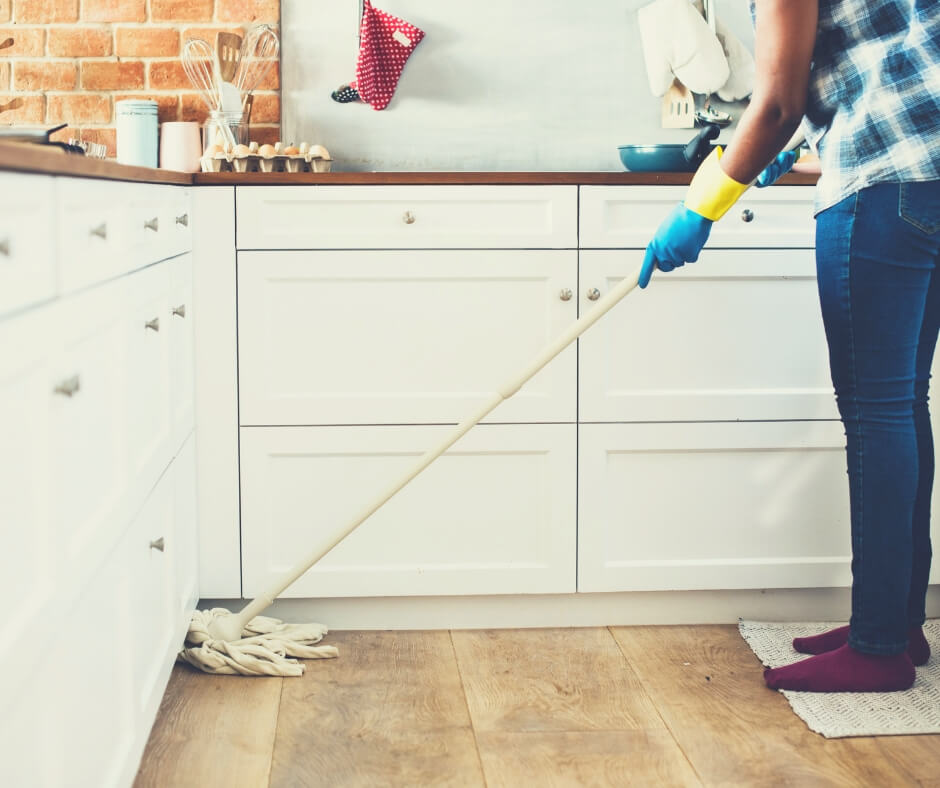 How To Spend Your Alone Time | I didn't want to spend all my alone time mopping the kitchen floor.