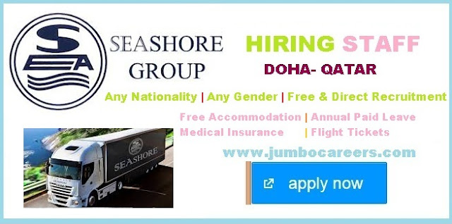 Latest labour jobs qatar with free visa,