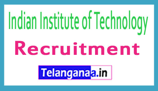 IIT Kharagpur Recruitment Notification 2018