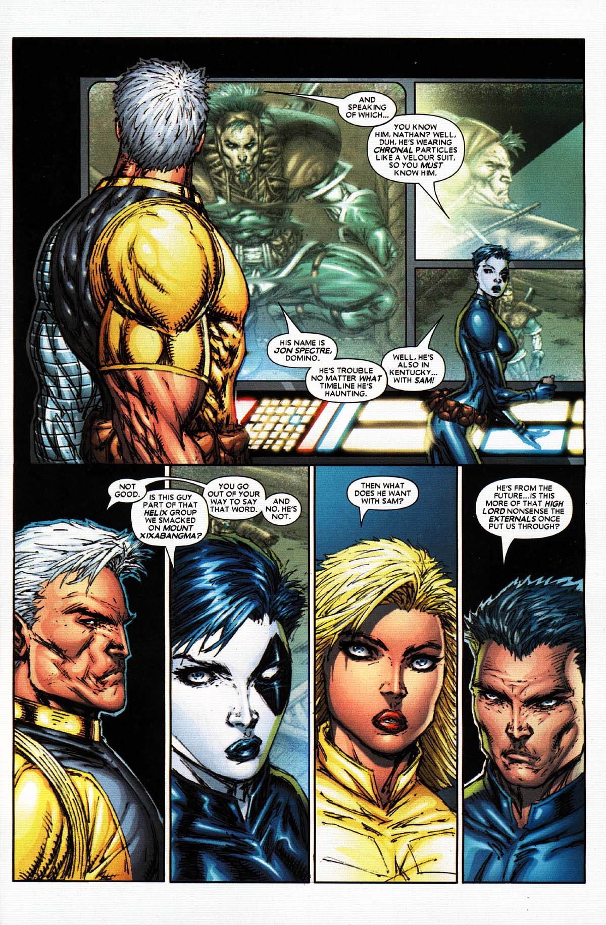 Read online X-Force (2004) comic -  Issue #2 - 20