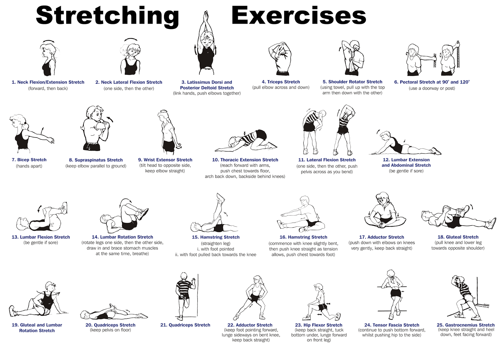 Sweat Cardio And Yoga Stretching Giving Your Body The