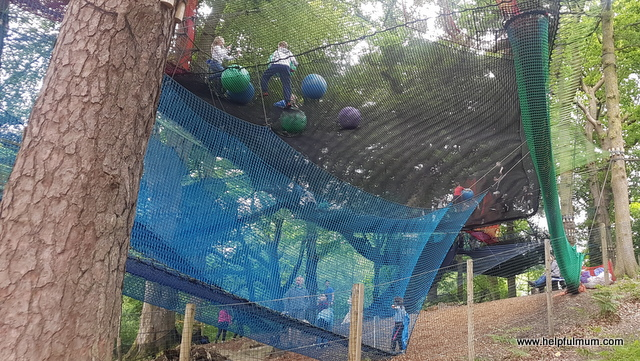 Treetop Nets Brockhole