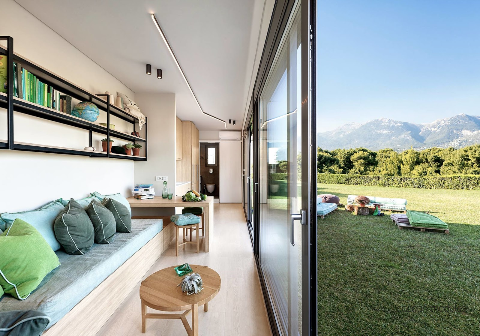 Tiny Home Designs: TINY HOUSE TOWN: Cocoon Module Shipping Container Home