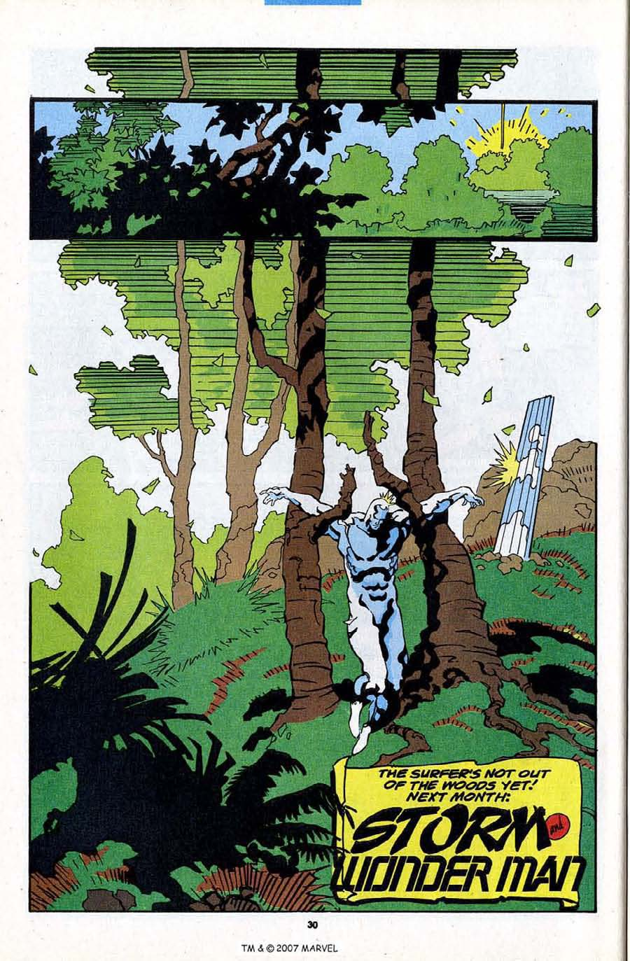 Read online Silver Surfer (1987) comic -  Issue #84 - 32
