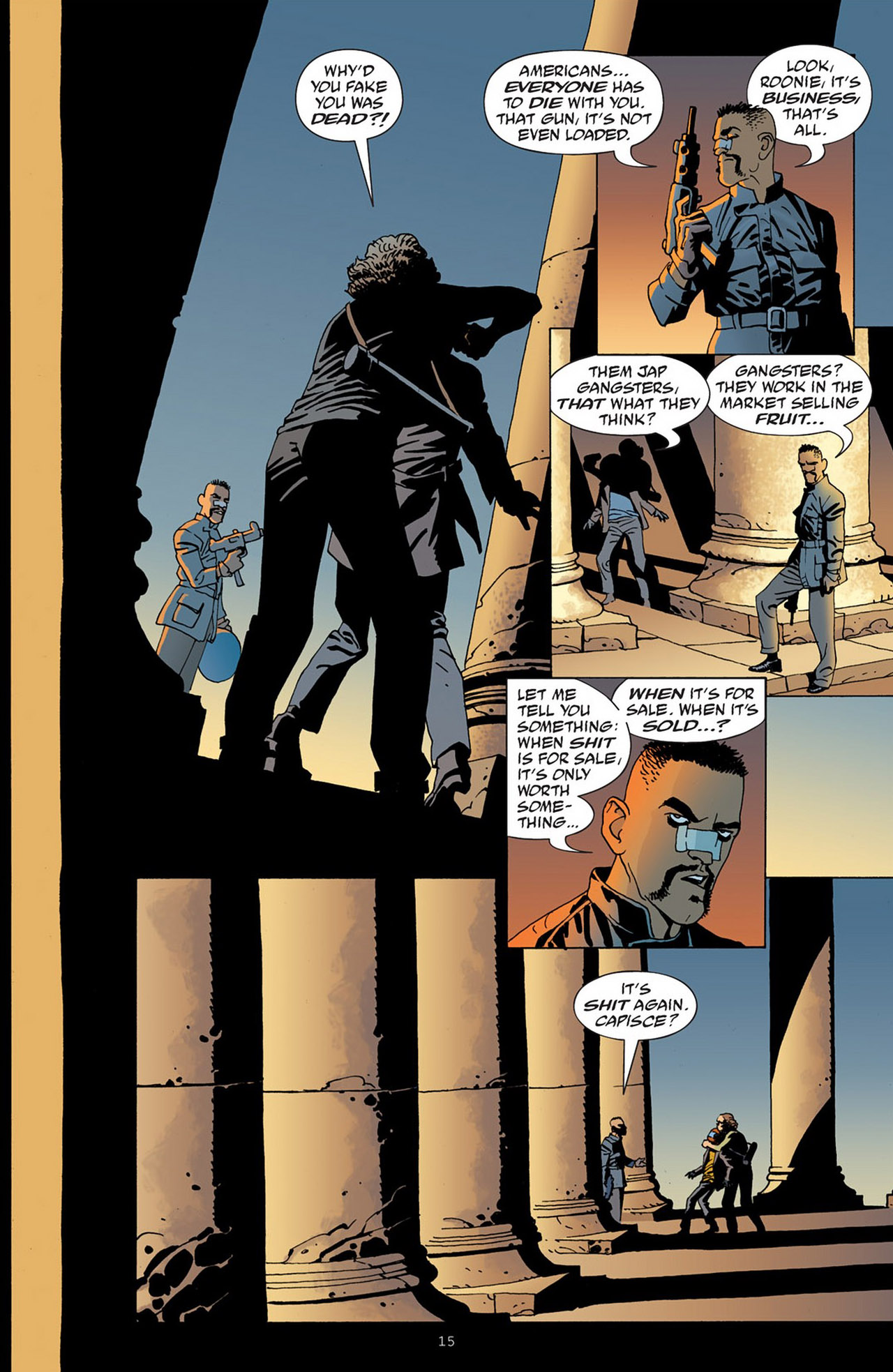 Read online 100 Bullets comic -  Issue #83 - 16