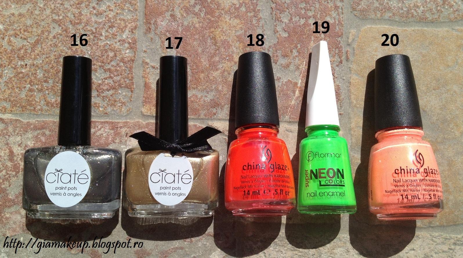Gia Makeup Blog Nail Polish Types Amp Finishes