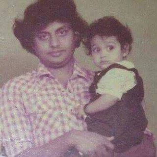Rakshita's childhood with her father
