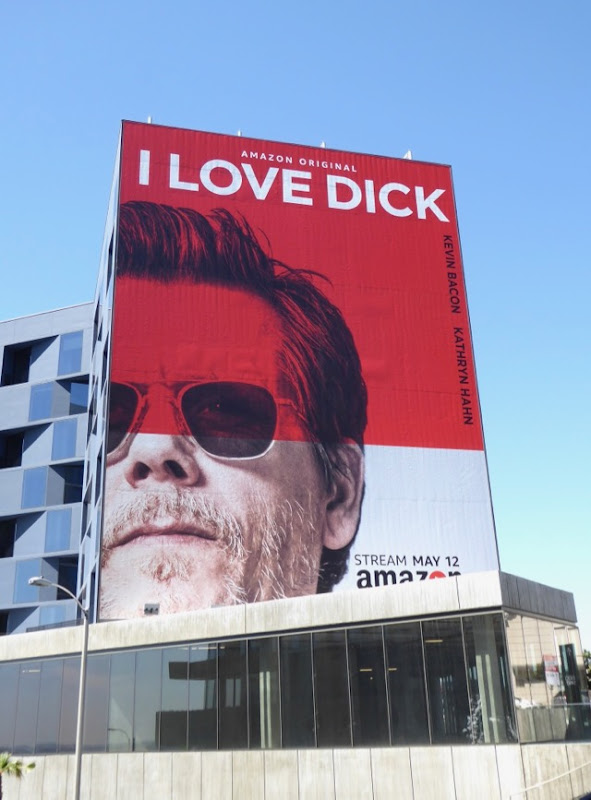 Kevin Bacon I Love Dick series premiere billboard