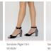 Sandale cu toc gros elegante si ieftine pentru vara modele 2018