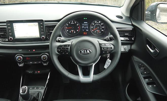 Kia Rio cockpit