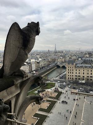 PARYŻ - widok z Notre Dame