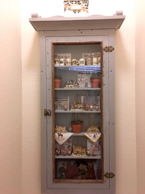 annie sloan chalk paint DIY cabinet